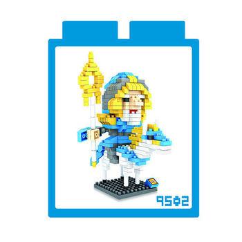LOZ 鑽石積木 【電玩系列】9502-魔獸世界 光之守衛 益智玩具 趣味 腦力激盪