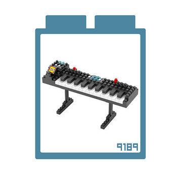 LOZ 鑽石積木 【樂器系列】9189-電子琴 益智玩具 趣味 腦力激盪