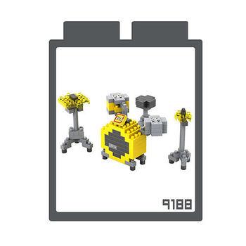 LOZ 鑽石積木 【樂器系列】9188-爵士鼓 益智玩具 趣味 腦力激盪
