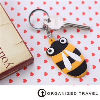 【OT 旅遊配件】動物鑰匙圈-蜜蜂