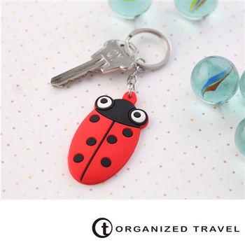 【OT 旅遊配件】動物鑰匙圈-瓢蟲