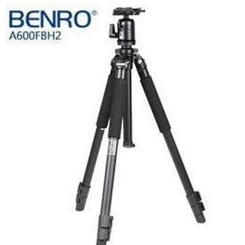 BENRO 百諾 A600F 鋁合金三腳架 含BH-2雲台 (公司貨)  附送腳架袋