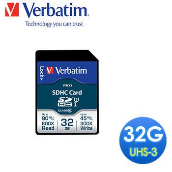 Verbatim Pro SDHC U3 32GB(47021)-C02058VB