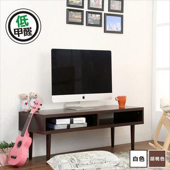 BuyJM 環保低甲醛2.5公分厚板電視櫃(寬105CM)(2色可選)