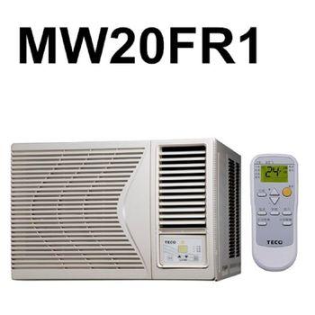 買就送【TECO東元】3-5坪定頻右吹窗型MW20FR1