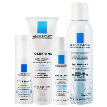 LA ROCHE-POSAY理膚寶水 多容安清潔照護組