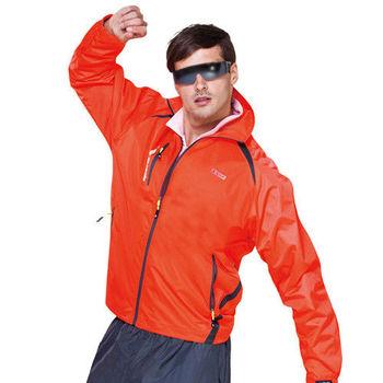 【SPAR】防潑水男版外套(SP6563A)螢光橘色