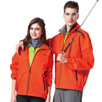 【SPAR】男女防潑水中性款外套(SP7575A)螢光橘色