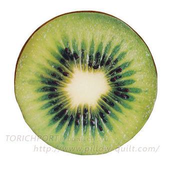 創意立體水果造型坐墊 -奇異果