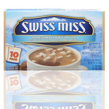 【洋菓食鋪】Swiss miss巧克力粉棉花糖口味-1盒入(280g/盒)