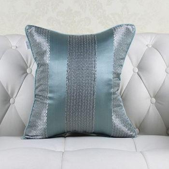 時尚靚麗條紋床頭大靠墊沙發靠墊含芯
