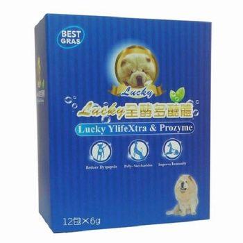 [寵物]Lucky 寵物專用全酵多醣體, 益生菌與酵素, 改善寵物與生俱來的腸道吸收問題