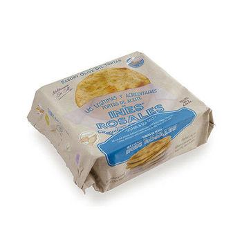 西班牙Ines Rosales 手工橄欖油薄餅 (芝麻海鹽x10包)