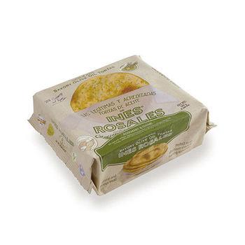 西班牙Ines Rosales 手工橄欖油薄餅 (迷迭百里香 x10包)