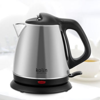 超值兩入組★【Kolin 歌林】1.7L不鏽鋼快煮壺/KPK-MNR1716S
