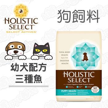 【鷹格活力滋 Holistic Select】幼犬 三種魚 健康成長配方(6磅)