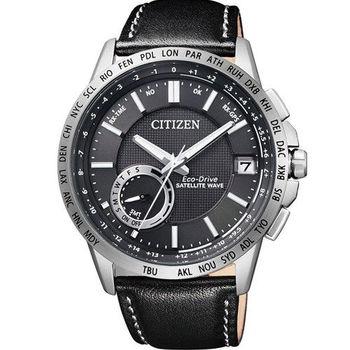 星辰 CITIZEN 光動能感光衛星紳士腕錶 CC3001-01E