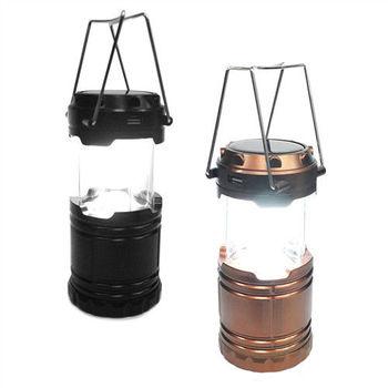【TM】6LED多功能太陽能露營燈(T0815)