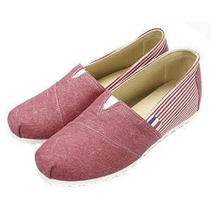 FUFA MIT  內增高橫條造型懶人鞋 (FT01) 共二色