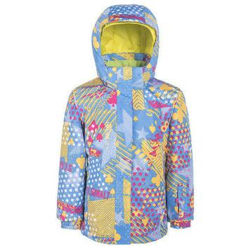 【聖伯納 St.Bonalt】女童-防水透氣鋪棉滑雪外套-淡藍(87171)