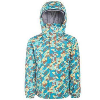 【聖伯納 St.Bonalt】男童-防水透氣鋪棉滑雪外套-黃綠(87170)