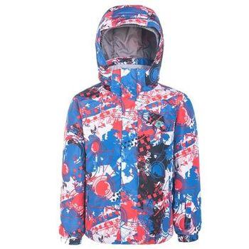 【聖伯納 St.Bonalt】男童-防水透氣鋪棉滑雪外套-火紅(87170)