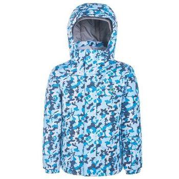 【聖伯納 St.Bonalt】男童-防水透氣鋪棉滑雪外套-灰藍(87170)