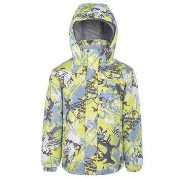 【聖伯納 St.Bonalt】男童-防水透氣鋪棉滑雪外套-青綠(87170)