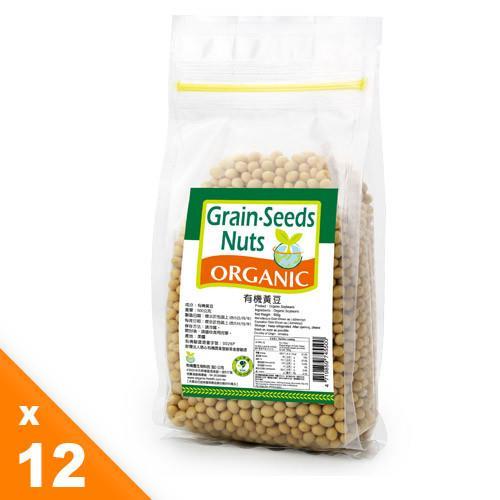 【有機園】有機黃豆12包超值組