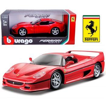 【BBURAGO】1/24法拉利-F50 跑車 模型車