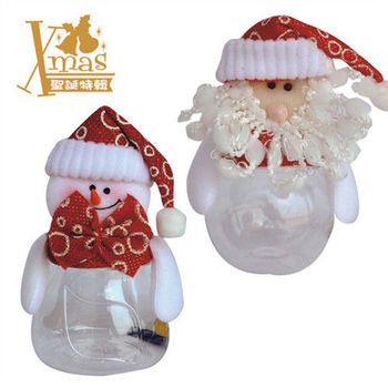 【X mas聖誕特輯2015】老公公+雪人糖果盒 (兩款合售) Y0713100