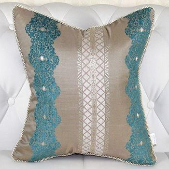 條紋床頭大靠墊沙發靠墊抱枕含芯