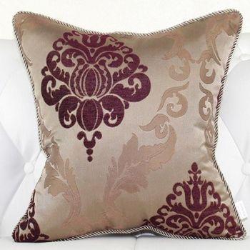歐式奢華床頭大靠墊沙發靠墊抱枕含芯