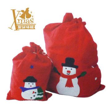 【X mas聖誕特輯2015】老公公禮物袋 (大+小) W0705060
