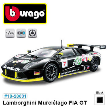 【BBURAGO】1/24藍寶堅尼Murcielago GT 跑車 模型車