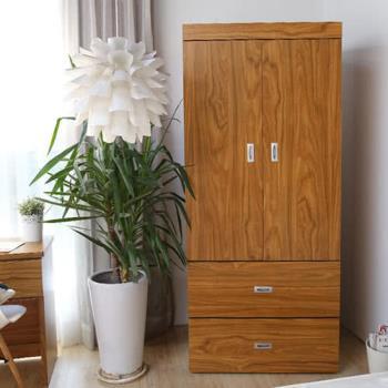 H&D DIGNITAS狄尼塔斯柚木色3X6尺衣櫃