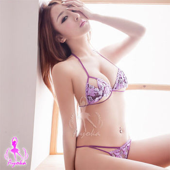 i-Style 砰然心動!情趣比基尼二件組(紫)【AB04322】