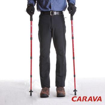 CARAVA男薄款保暖透氣的超優版型軟殼褲(黑)