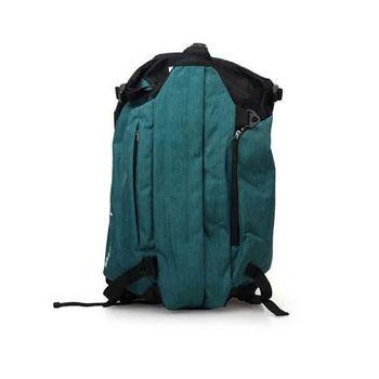 【LI-NING】羽球隨身裝備袋-側肩背 雙肩背 李寧 羽毛球 深綠黑