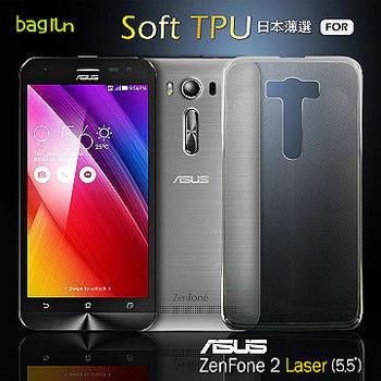 Bagrun Asus ZenFone2 Laser [5.5吋]日本薄選透明TPU手機保護套