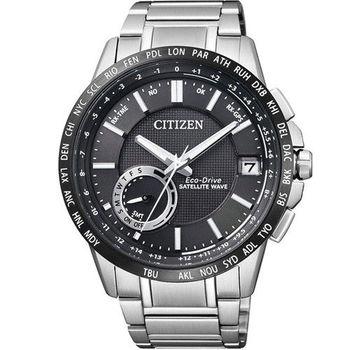 星辰 CITIZEN 光動能感光衛星紳士腕錶 CC3007-55E