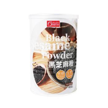 【有機園】純正黑芝麻粉經濟6罐組