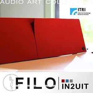 【IN2UIT】FILO 輕薄工藝 聲音美學靜電式無線藍芽喇叭|壁掛藝術居家設計