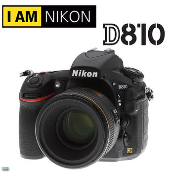 NIKON D810 24-120mm KIT (公司貨)