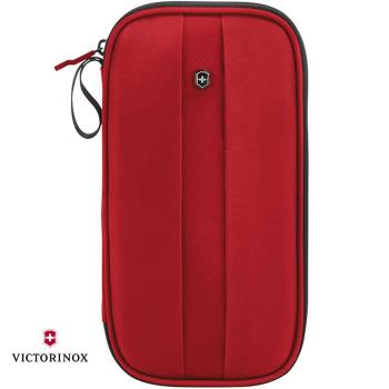 VICTORINOX 瑞士維氏TA4.0 RFID尼龍證件包-紅 31372803