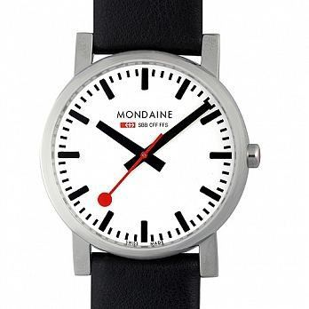MONDAINE 瑞士國鐵經典腕錶/38mm (6604411)