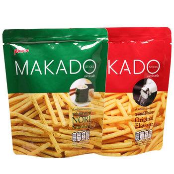 【MAKADO】 麥卡多薯條26入組(鹽味X13+海苔X13)