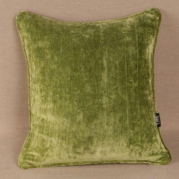 現代簡約風格純色絨布抱枕含芯