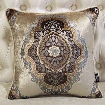 皇室新古典復古金床頭沙發抱枕含芯