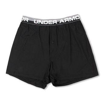 (預購) Under Armour 2015男極致舒適黑色四角內褲 S-XXL